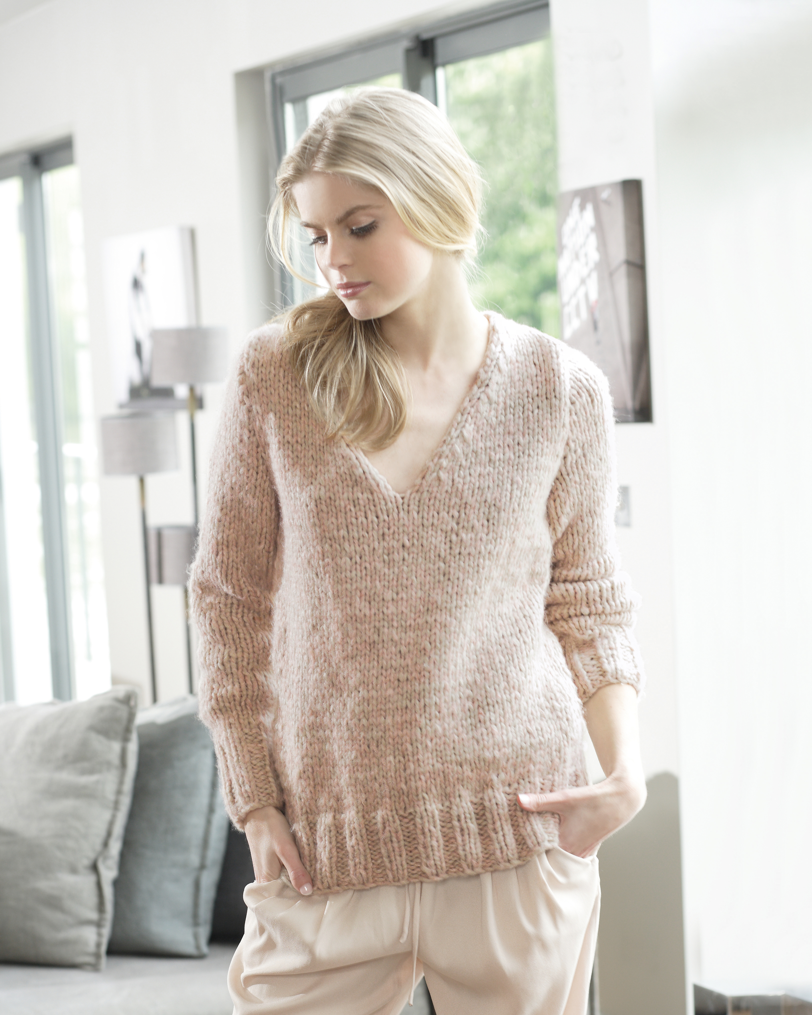 Tricot pull femme aiguille 5