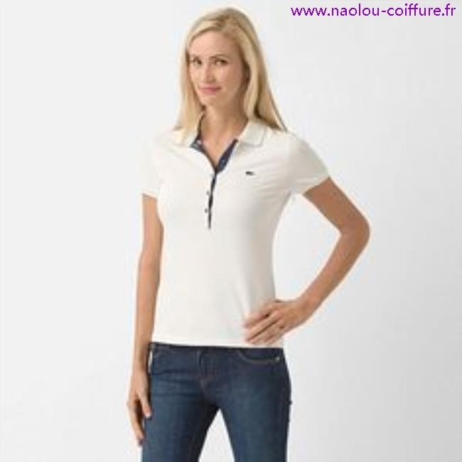 Pull lacoste femme blanc