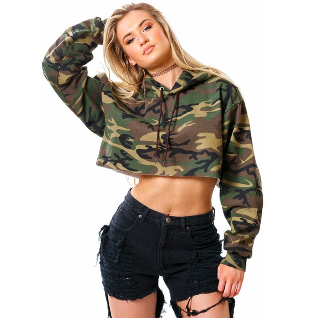 Pull millitaire femme
