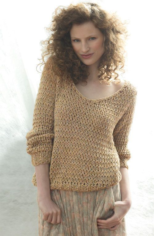 Tuto pull tricot femme