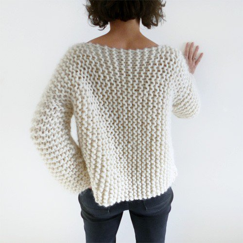 Tricot pull facile femme