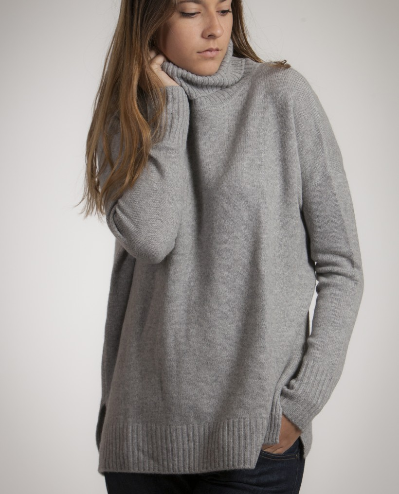 Pull femme col roule pas cher