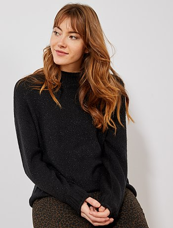 Pull femme fin et chaud