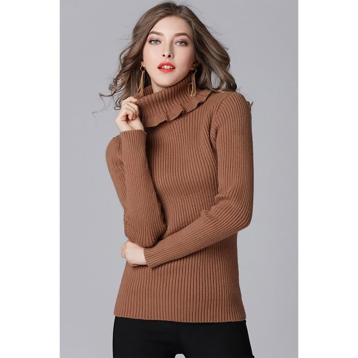 Sous pull femme coton grande taille