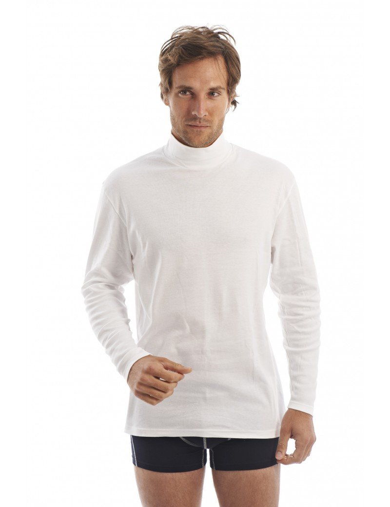Sous pull femme col cheminee