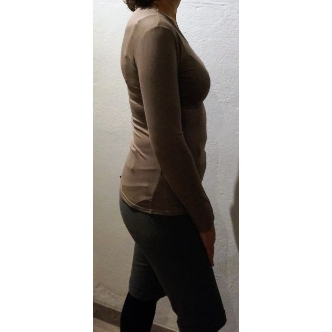 Sous pull femme taupe